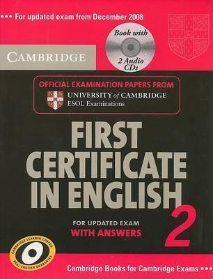 Camb First Cert Eng 2 Self-Study Pk