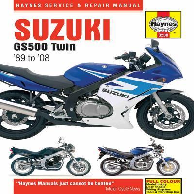 Haynes Service & Repair Manual Suzuki GS500 Twin 89-08