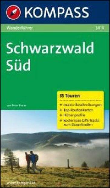 Guida escursionistica n. 5414. Schwarzwald Süd