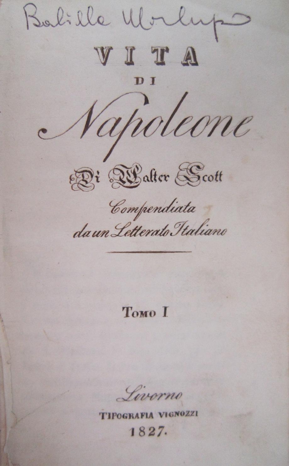 Vita di Napoleone