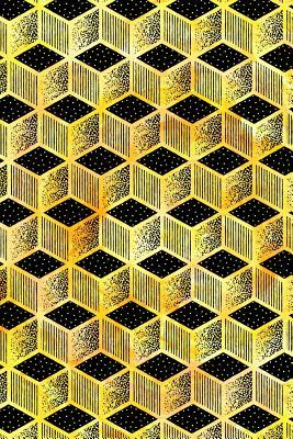 Bullet Journal Notebook Cubes Pattern 6