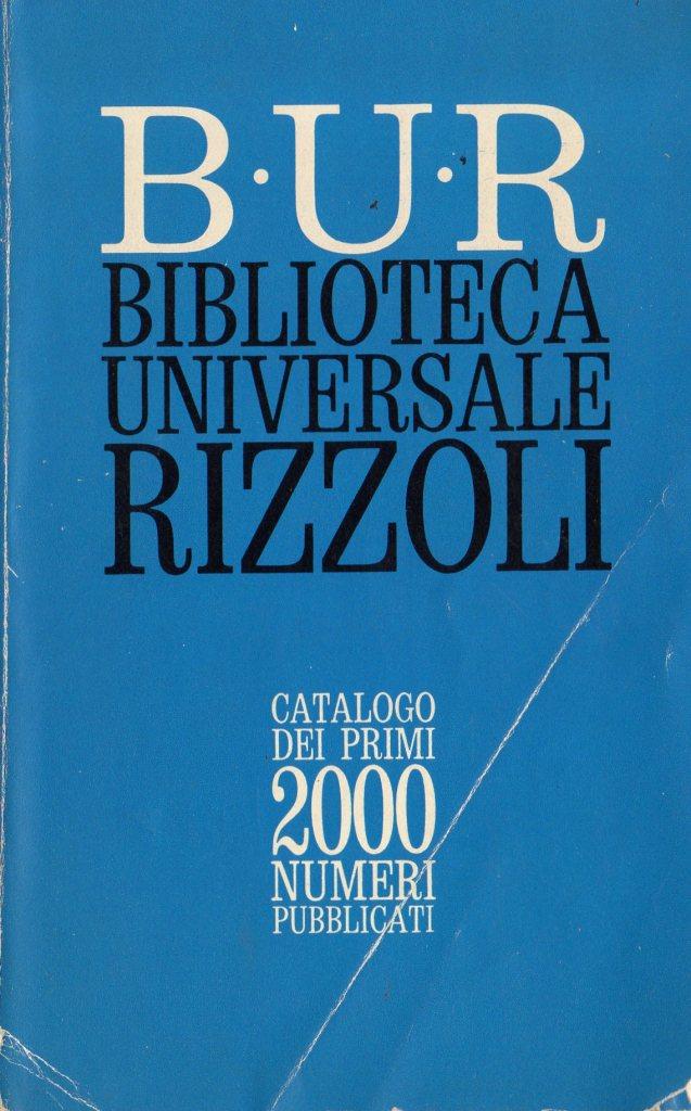 B.U.R. Biblioteca Universale Rizzoli