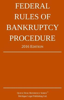 Federal Rules of Bankruptcy Procedure 2016