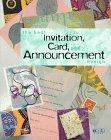 The Best Invitation, Card, and Announcement Design