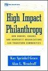 High Impact Philanthropy