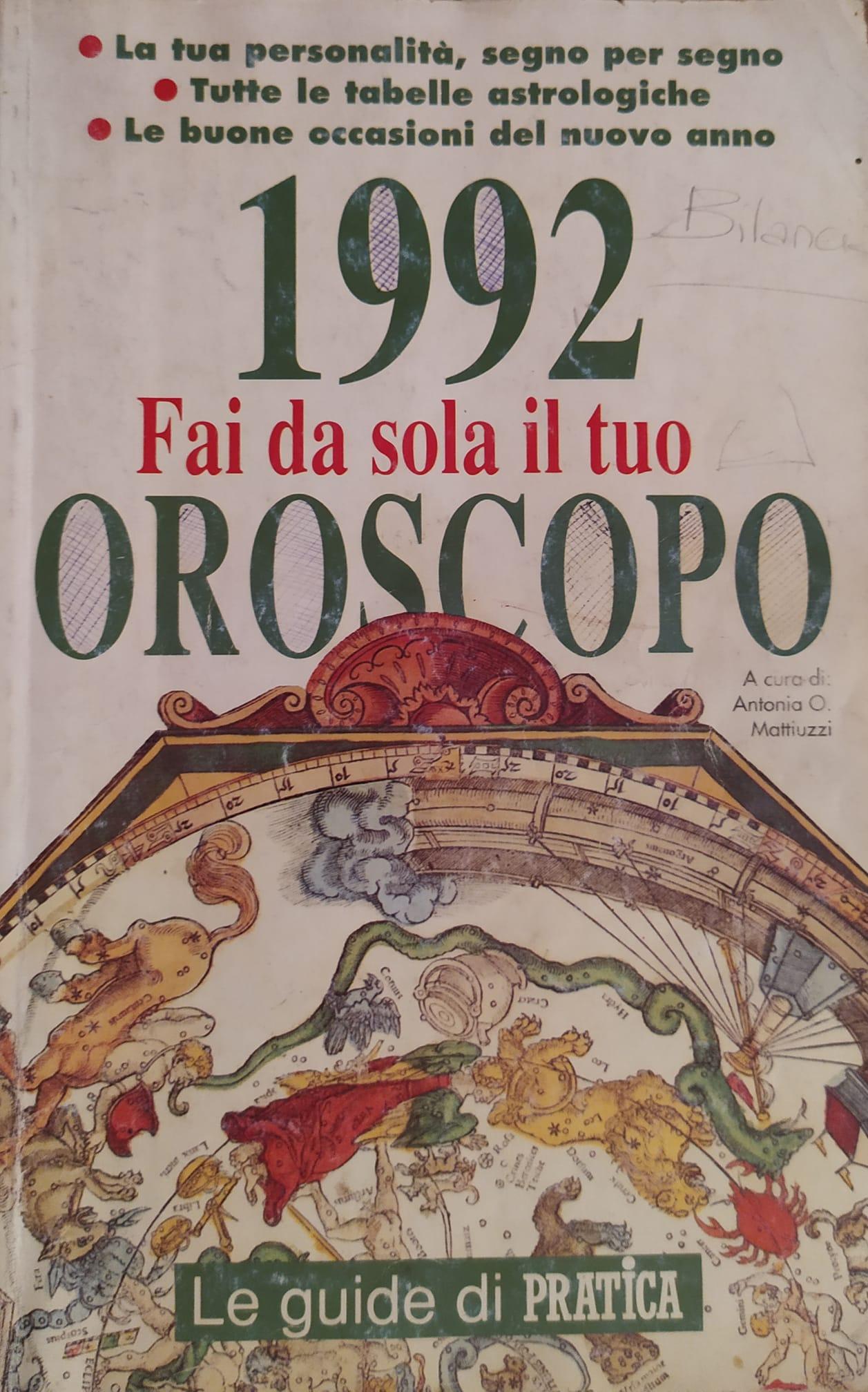 1992 Fai da sola il tuo oroscopo