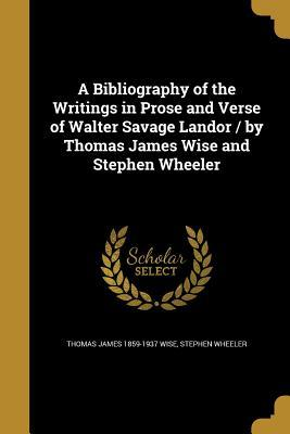 BIBLIOGRAPHY OF THE WRITINGS I