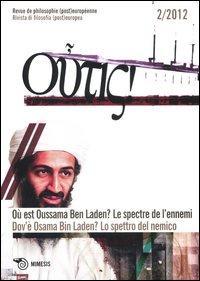 Outis! Rivista di filosofia (post)europea (2012). Ediz. italiana e francese