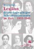 Lexikon deutschsprachiger Schriftstellerinnen im Exil, 1933-1945