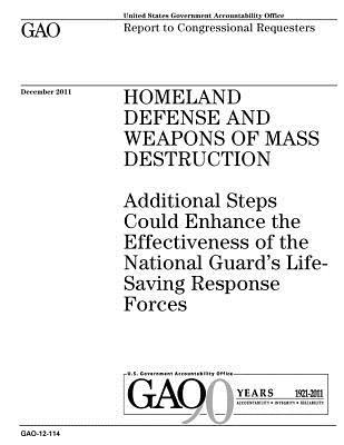 Homeland Defense and Weapons of Mass Destruction