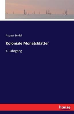 Koloniale Monatsblätter