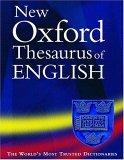 New Oxford Thesaurus of English