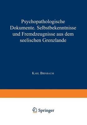 Psychopathologische Dokumente