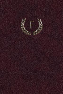 "Monogram ""F"" Blank Book"