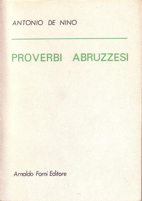 Proverbi abruzzesi