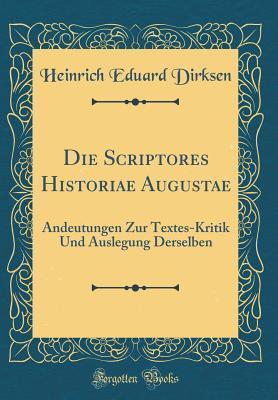 Die Scriptores Historiae Augustae