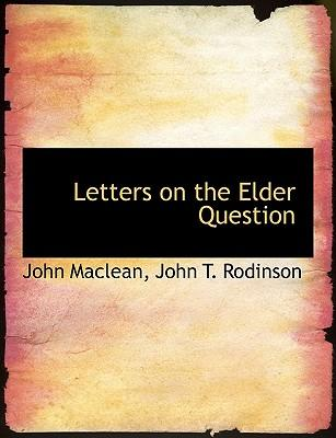 Letters on the Elder...