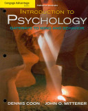 e-Study Guide for: Introduction to Psychology Advantage Ser. (Loosefeaf) by Dennis Coon, ISBN 9780495599135