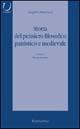Storia del pensiero filosofico patristico e medievale