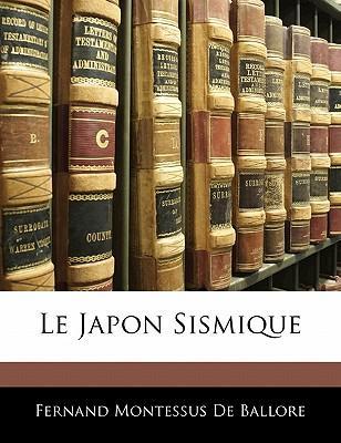 Le Japon Sismique