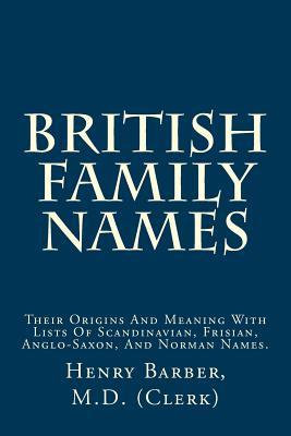 British Family Names