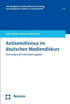 Antisemitismus Im Deutschen Mediendiskurs