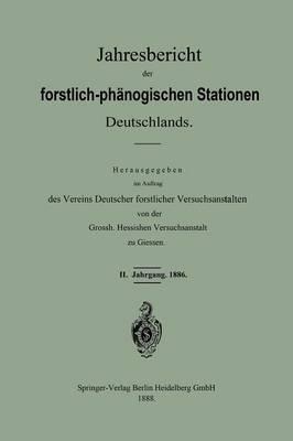 Jahresbericht der Forstlich-Phänologischen Stationen Deutschlands