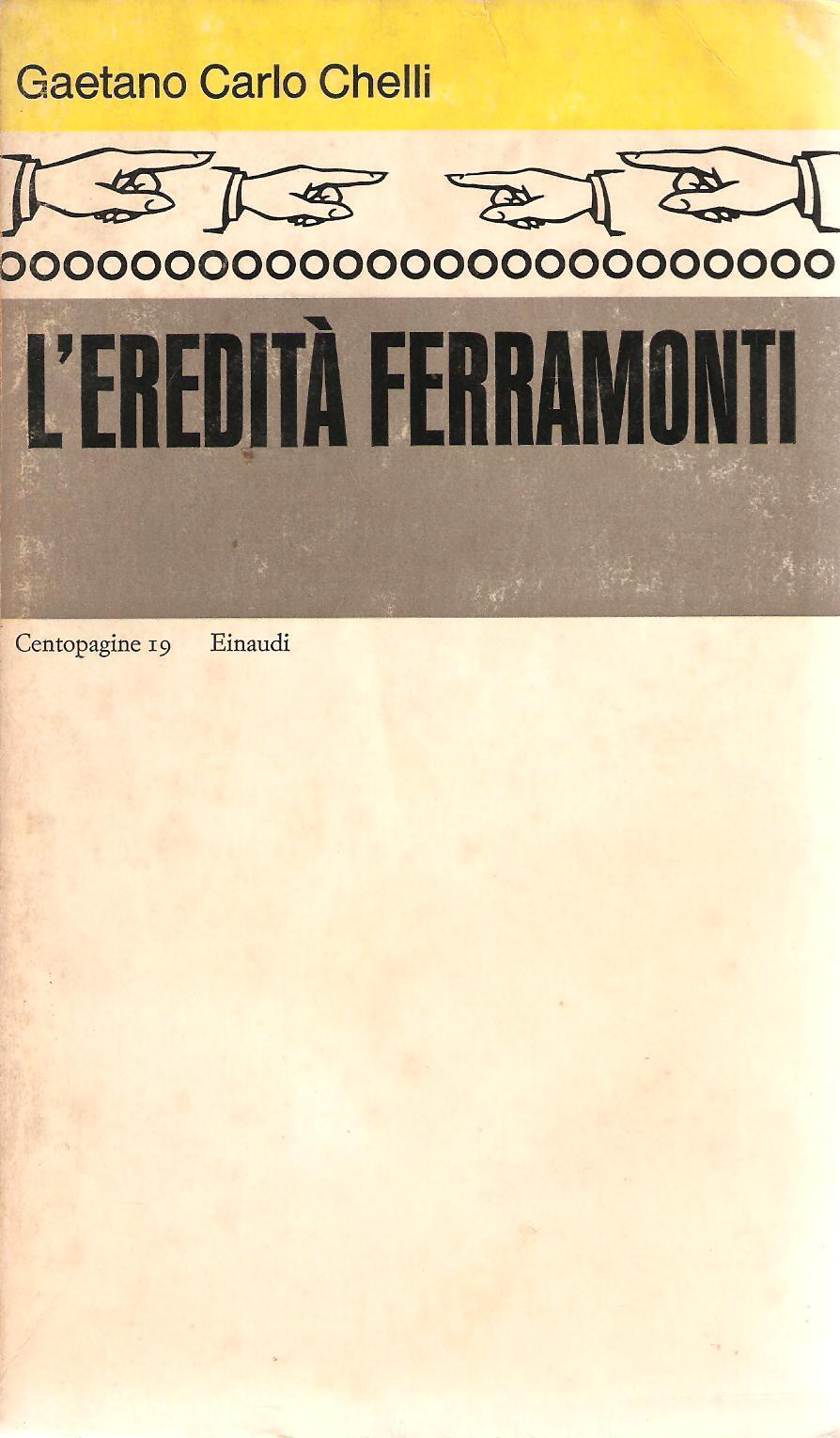 L' eredità Ferramonti
