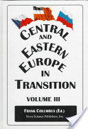 Central and Eastern Europe in Transition