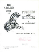 The Adler book of puzzles and riddles