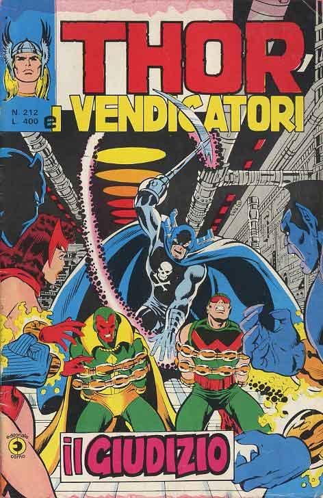 Thor e i Vendicatori (Il Mitico Thor) n. 212