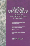 Business Specifications