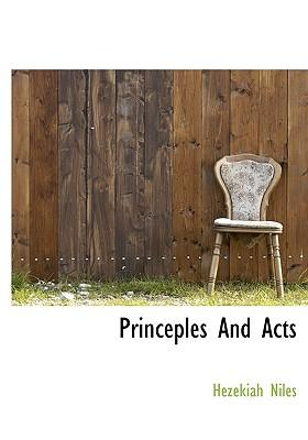 Princeples and Acts