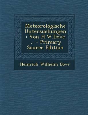 Meteorologische Untersuchungen