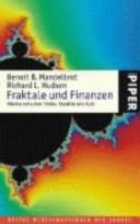 Fraktale und Finanzen. Maerkte zwischen Risiko, Rendite und Ruin