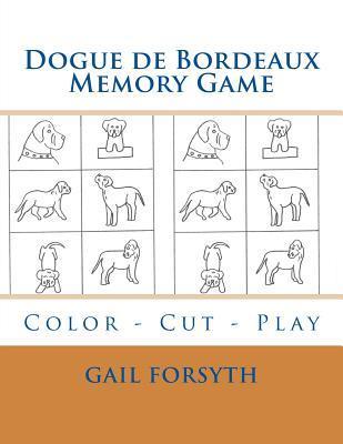 Dogue De Bordeaux Memory Game