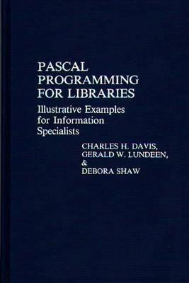 Pascal Programming for Libraries