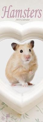 Hamsters Slim Calendar 2018 (Slim Standard)