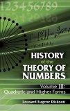 History of the Theory of Numbers, Volume III