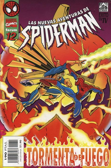 Las nuevas aventuras de Spiderman Vol.1 #12 (de 15)