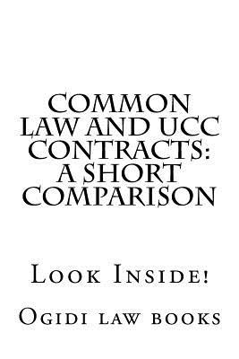 Common Law and Ucc Contracts