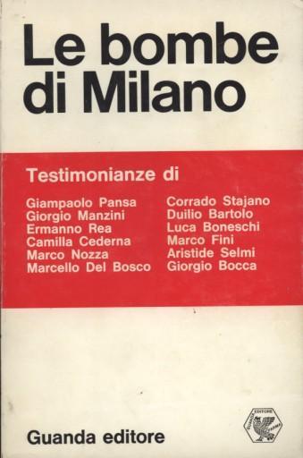 Le bombe di Milano