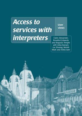 Access to Services with Interpreters