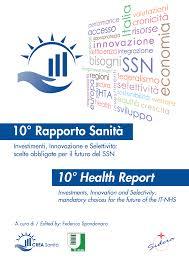 10º Rapporto Sanità