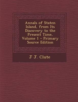 Annals of Staten Isl...