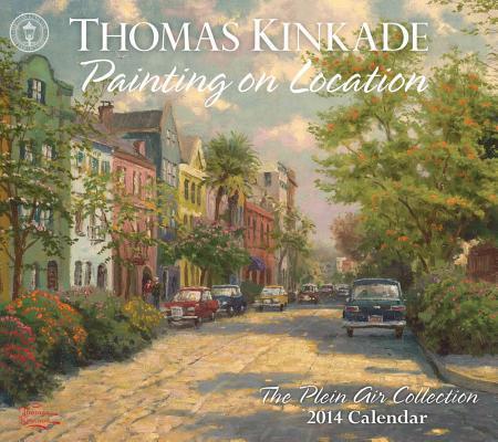 Thomas Kinkade Painting on Location 2014 Calendar