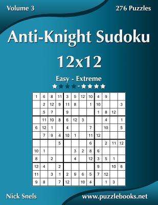 Anti-knight Sudoku 12x12