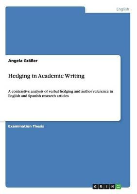 Hedging in Academic Writing