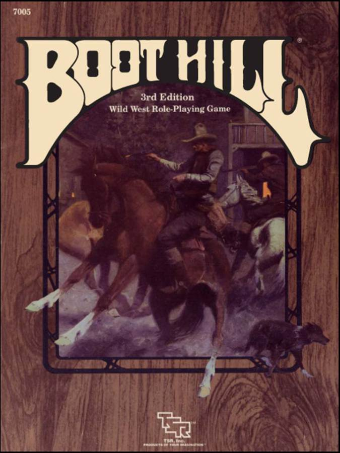 Boot Hill Wild West Game 3rd Edit