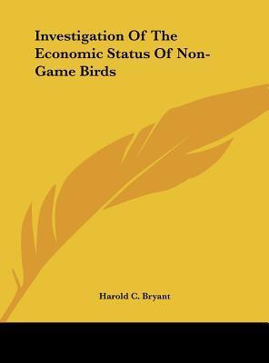 Investigation of the Economic Status of Non-Game Birds